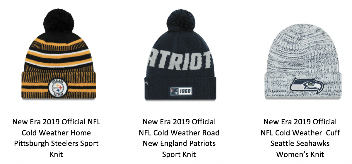 New Era x NFL Launch Knit Hat Collection For All 32 Teams