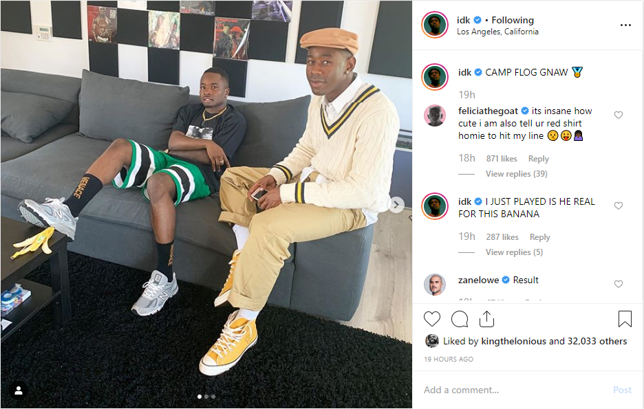 IDK Is Even More Confident He Has AOTY After Playing It For Both Kanye West & Tyler, The Creator