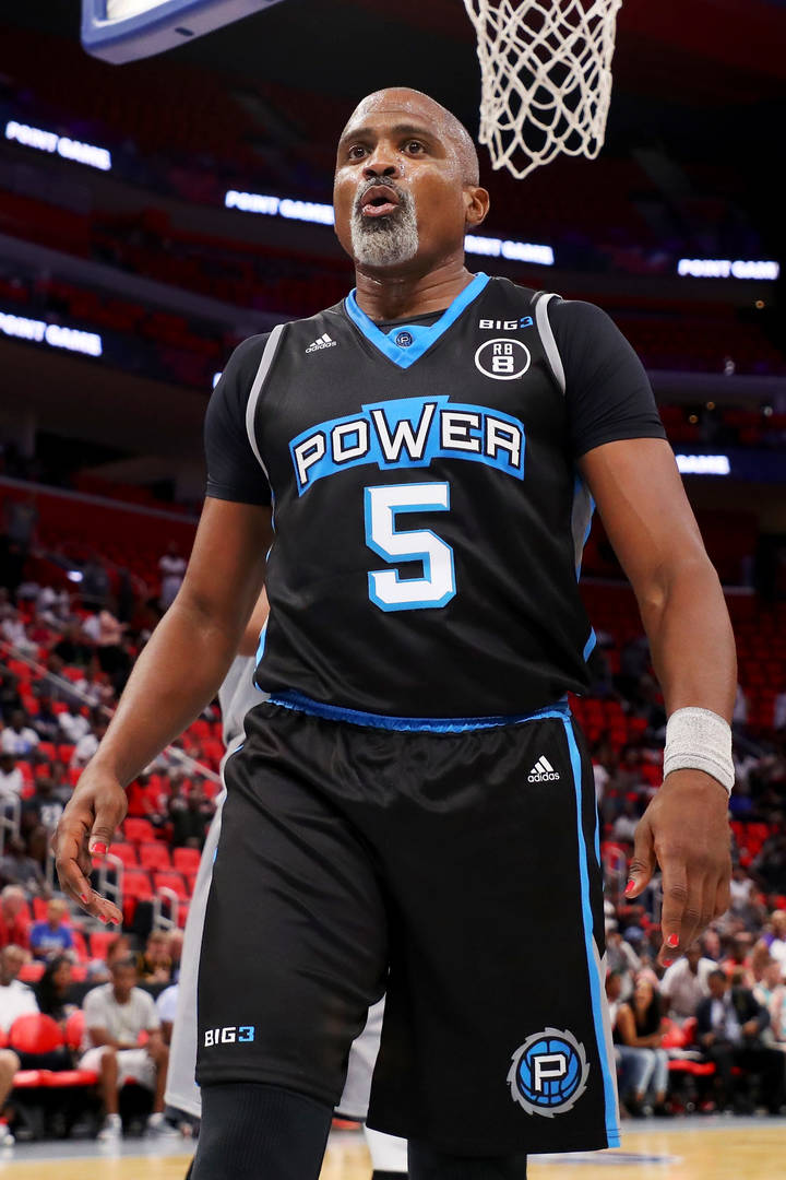 Michael Rapaport Works Cuttino Mobley's Nerves At BIG3 Game In Awkward Moment