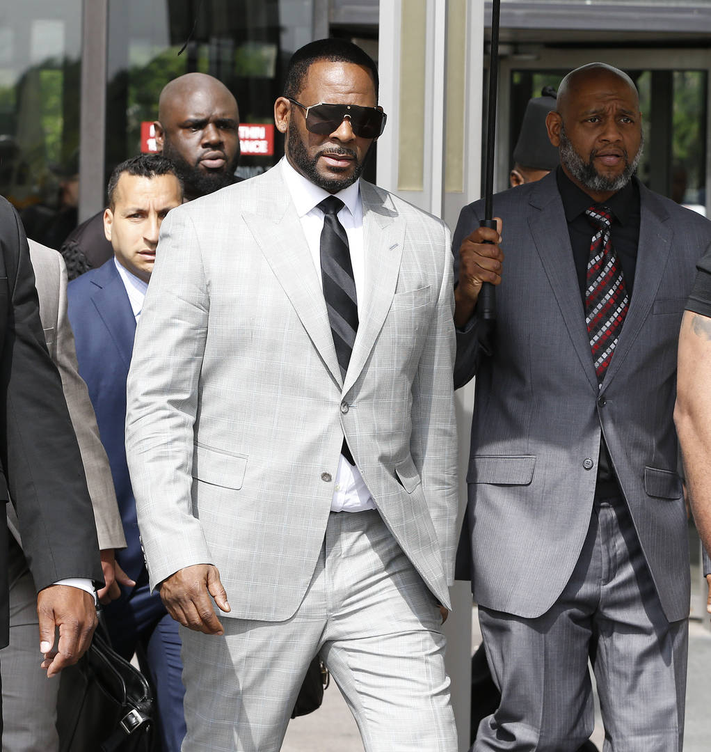 R. Kelly pleads not guilty to sex trafficking charges in New York