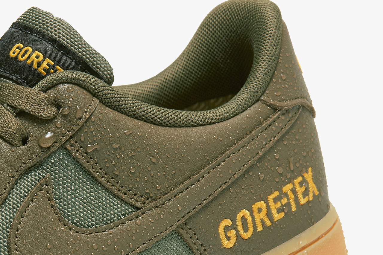 Nike Air Force 1 x Gore-Tex Pack Coming Soon: Official Photos