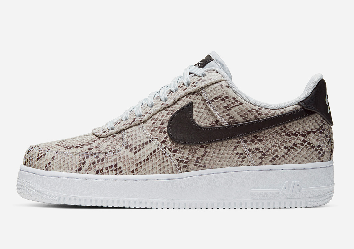 "Nike Air Force 1 Low ""Snakeskin"" Coming Soon: Official s"