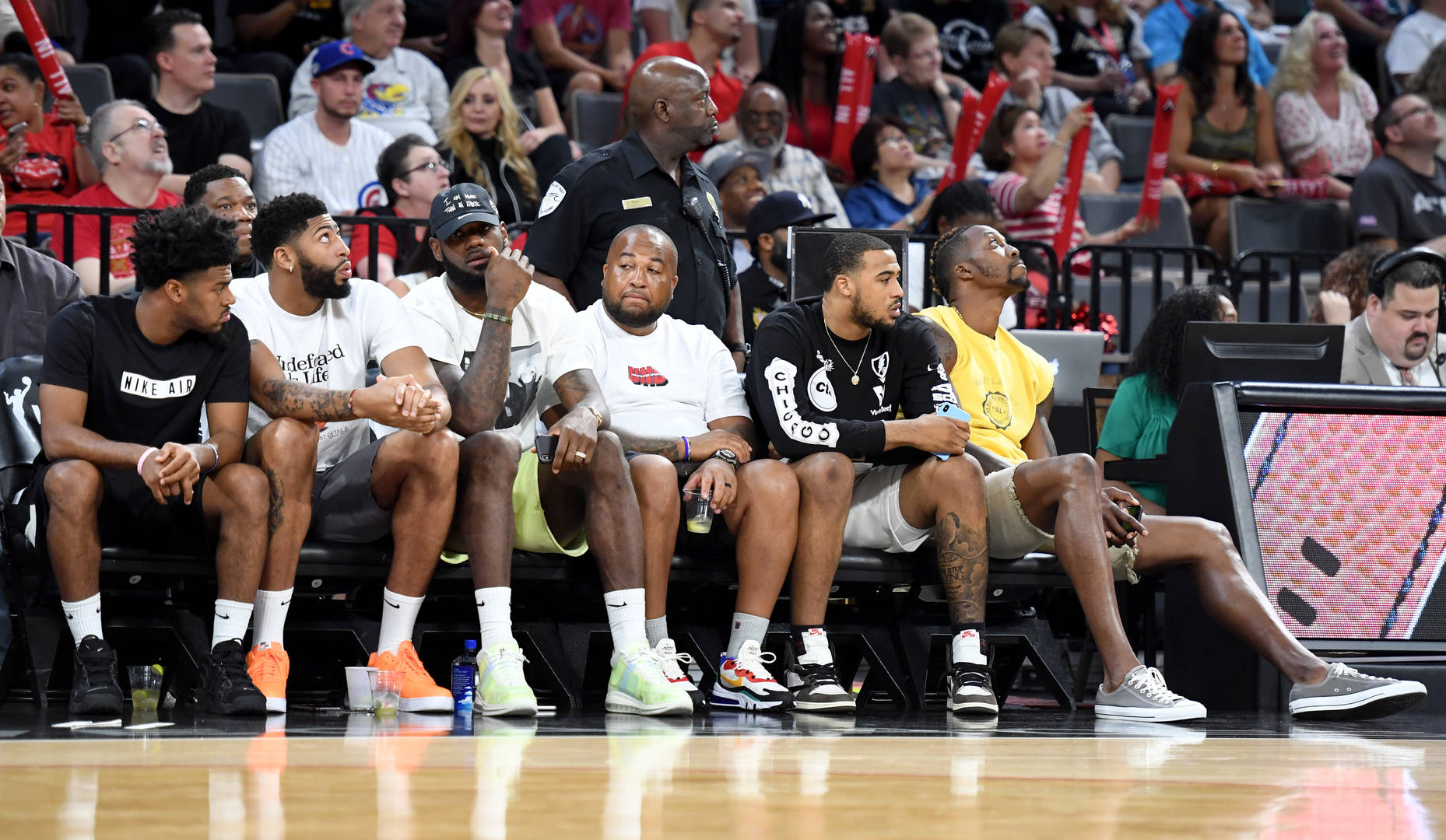 LeBron James, Dwight Howard & AD Have Lakers Reunion In Las Vegas: Photos