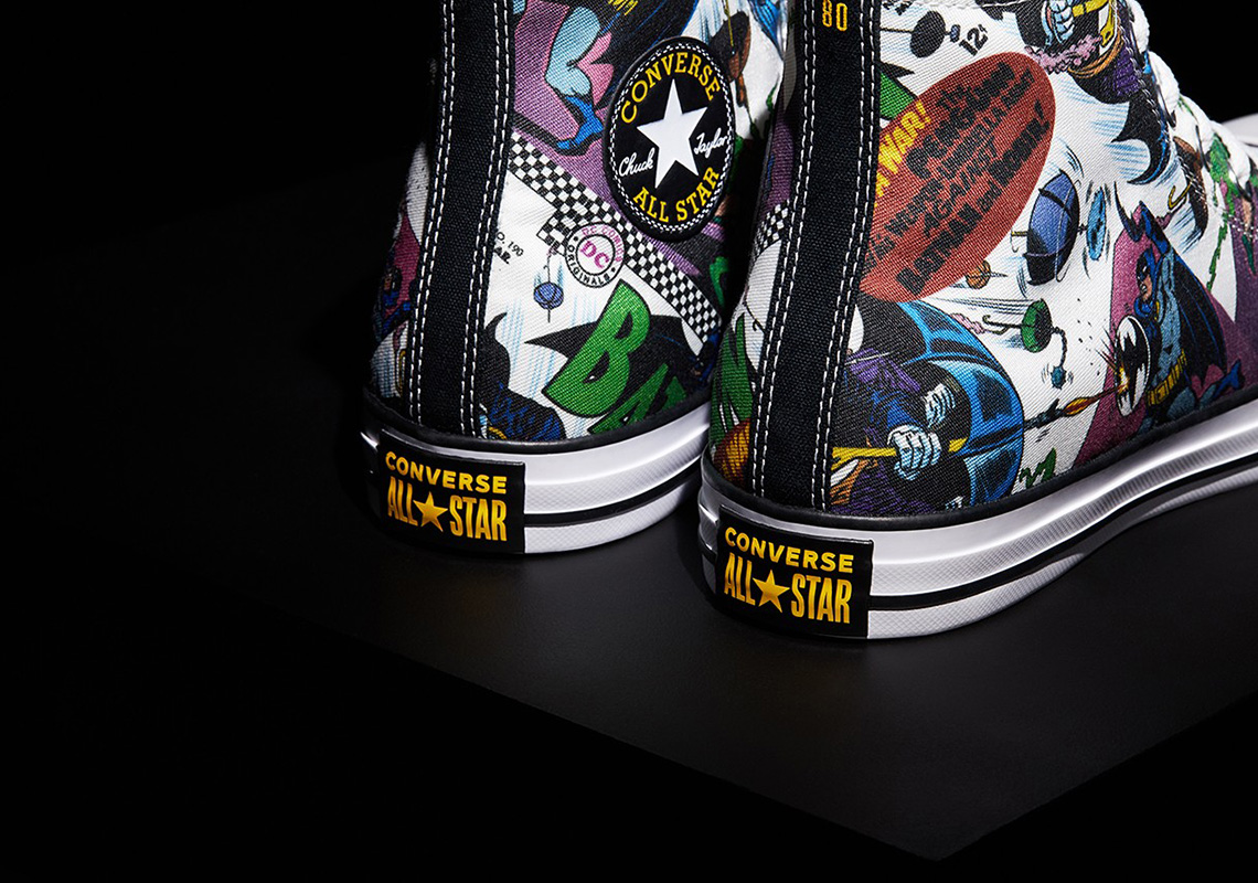 Batman x Converse Sneaker Collection Revealed: Release Details