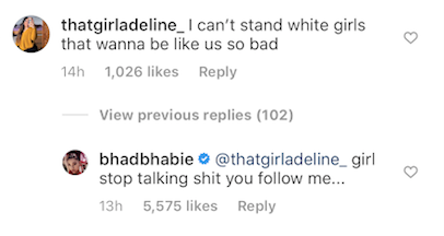 Bhad Bhabie Continues NBA YoungBoy Obsession With Lip-Syncing Video