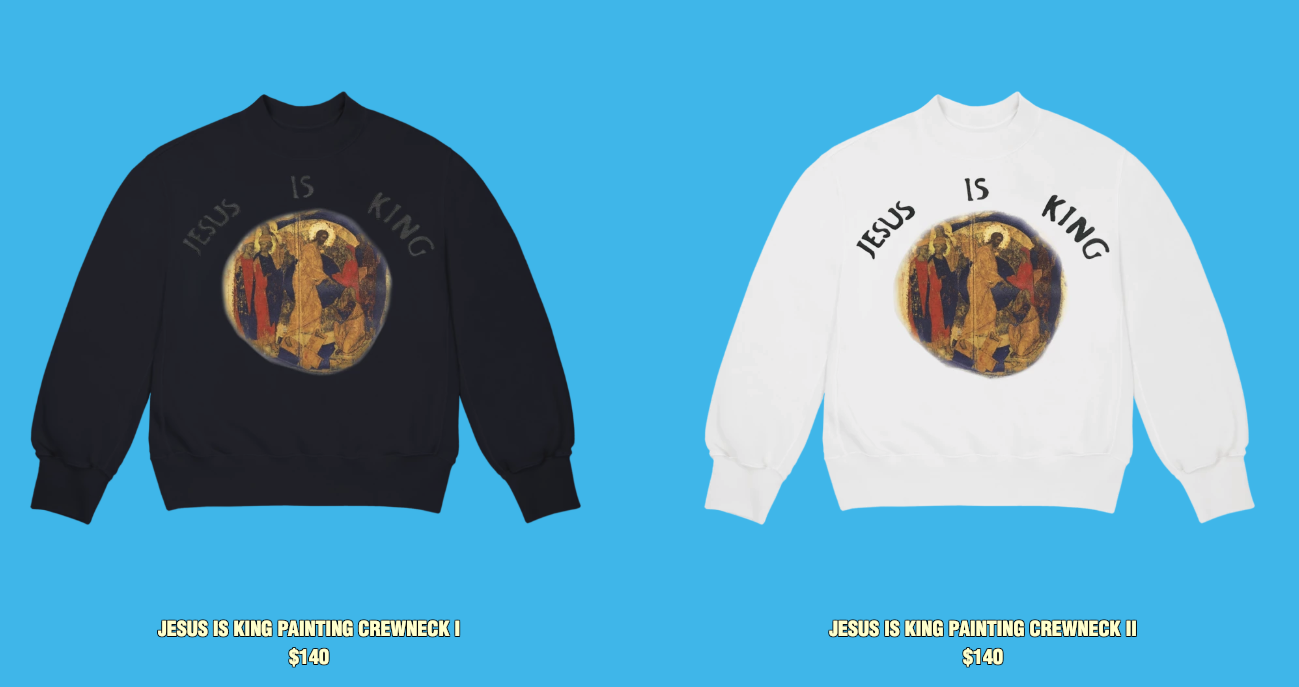 "Kanye West Unveils ""Jesus Is King"" NYC Merch"