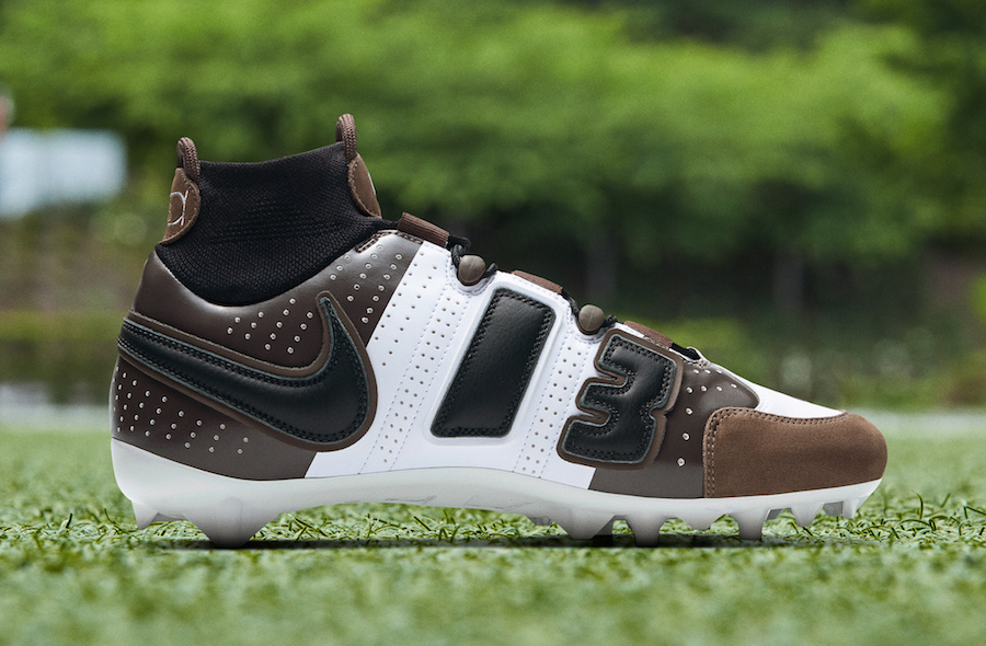 "Odell Beckham Jr. Nods To Travis Scott With ""Cactus Jack"" Nike Cleats"