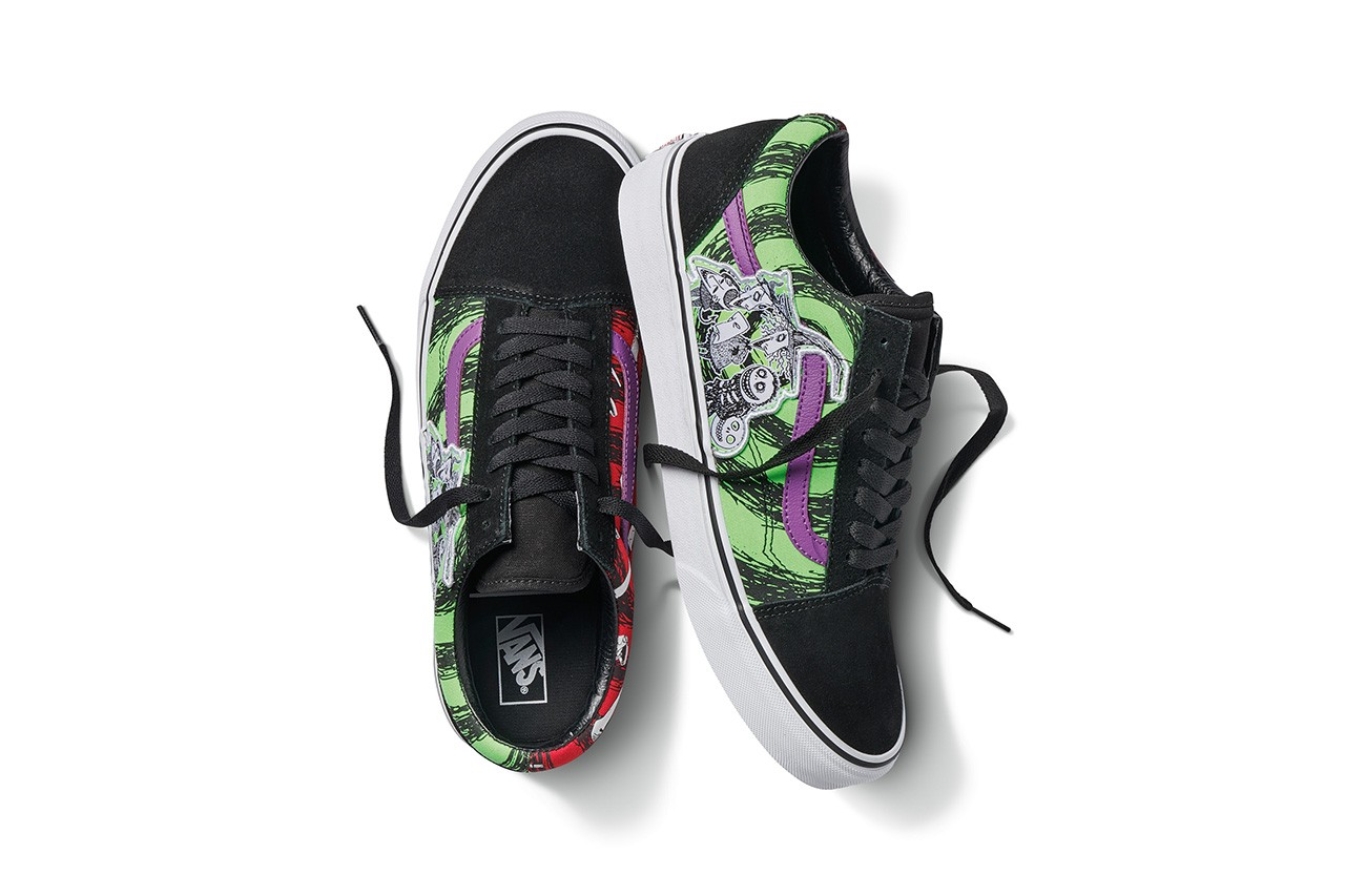 Nightmare Before Christmas X Vans Collection Release