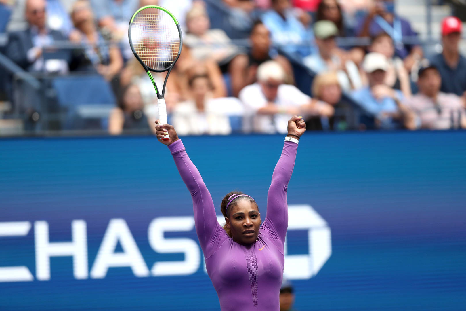 US Open 2019: Serena Williams sweeps into the fourth-round