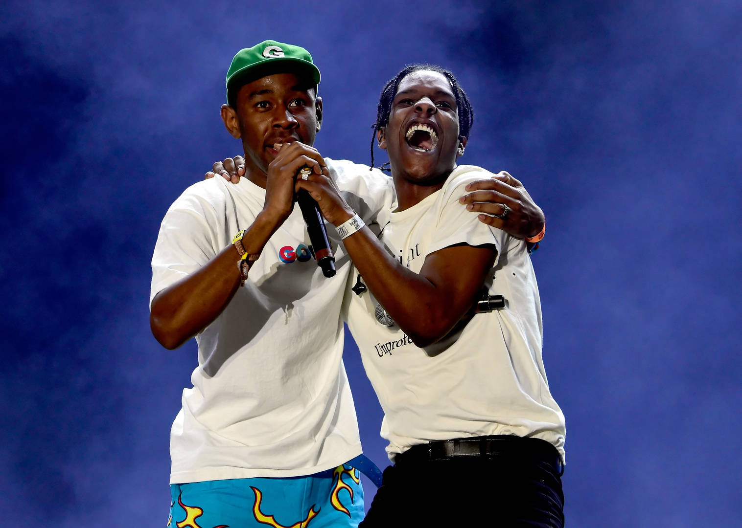 """Tyler, The Creator Brings A$AP Rocky For """"Who Dat Boy"""" At MSG Show"""