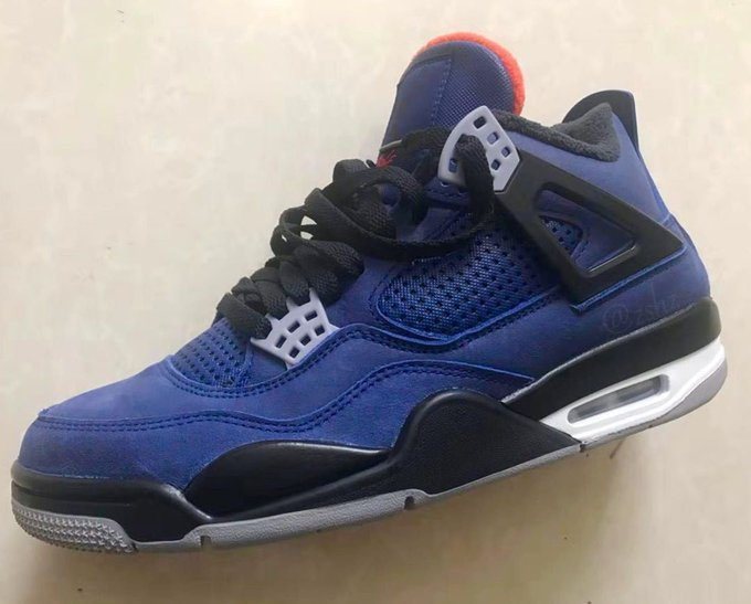 timeless design 28eb8 fdee5 Air Jordan 4 Winterized Colorway Pulls Elements From ...