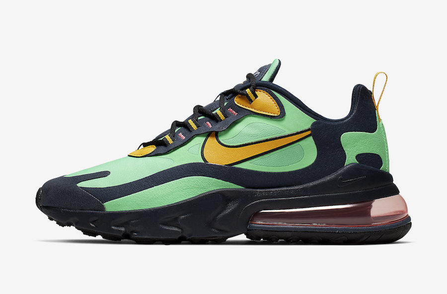 "Nike Air Max 270 React ""Electro Green"" Release Date Announced"