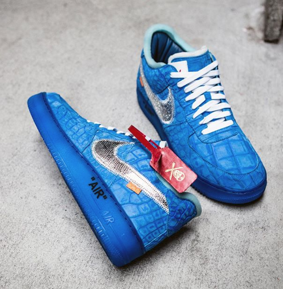The Game Receives Nipsey-Inspired Off-White x Nike AF1 Customs