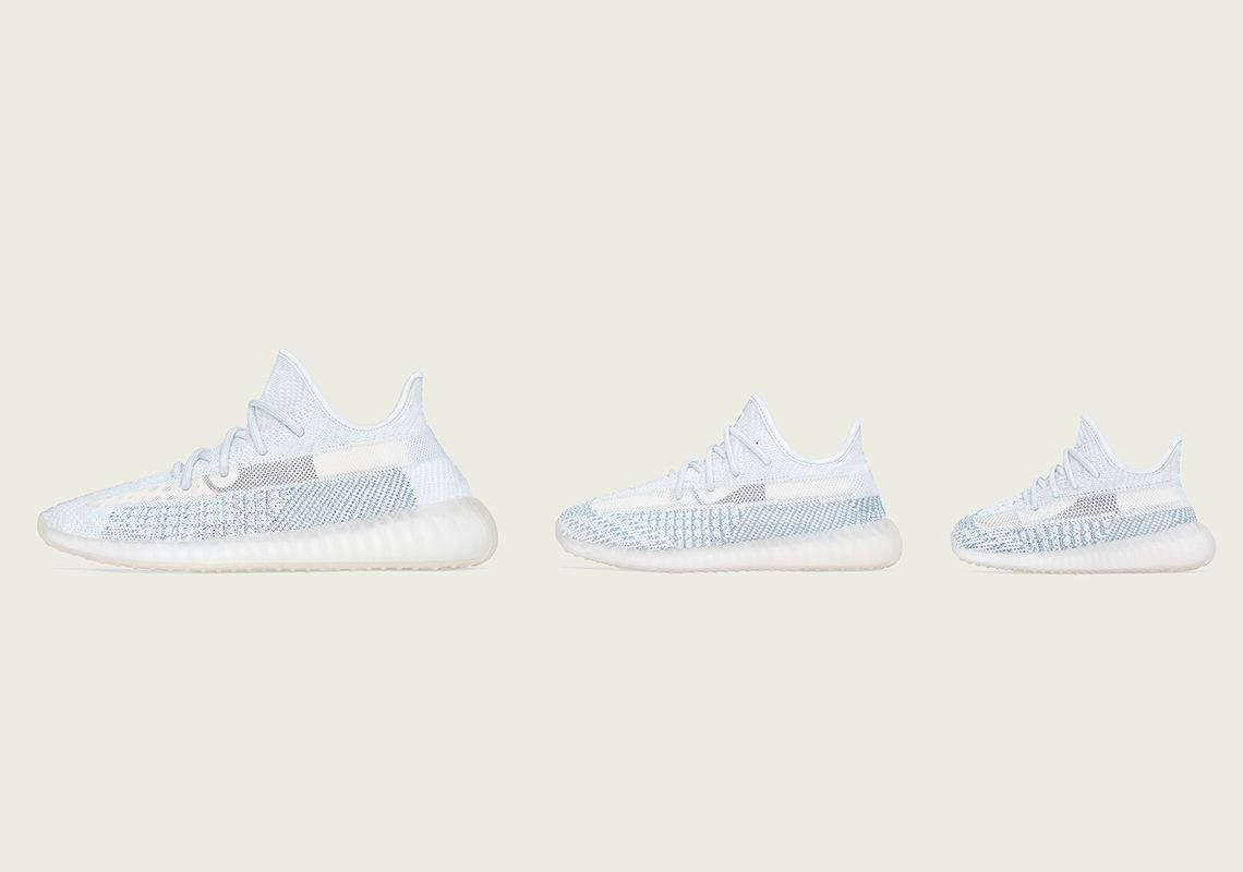 "Adidas Yeezy Boost 350 V2 ""Cloud White"" Outpacing Popular ""Lundmark"" Colorway"