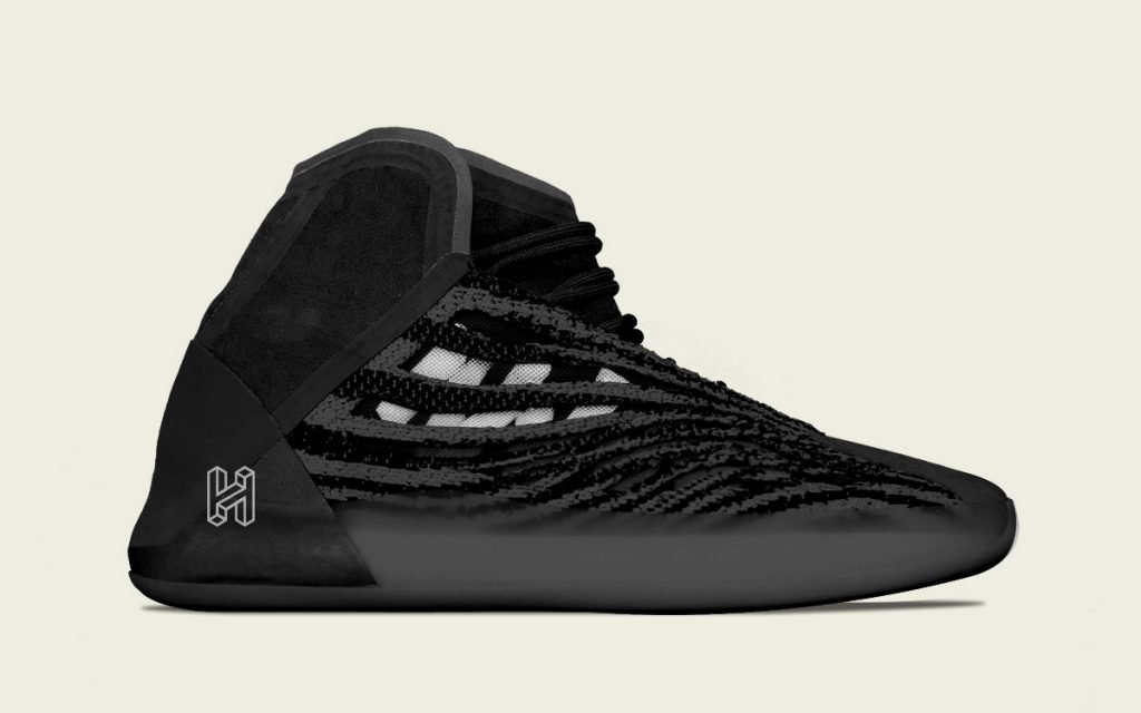 Adidas Yeezy Basketball Sneaker Set To Arrive In Sleek Black Colorway