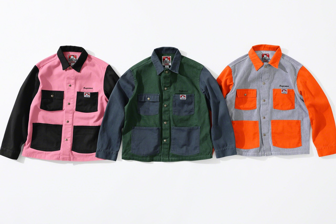 Supreme x Ben Davis Apparel Collection Debuts This Week: Official Photos