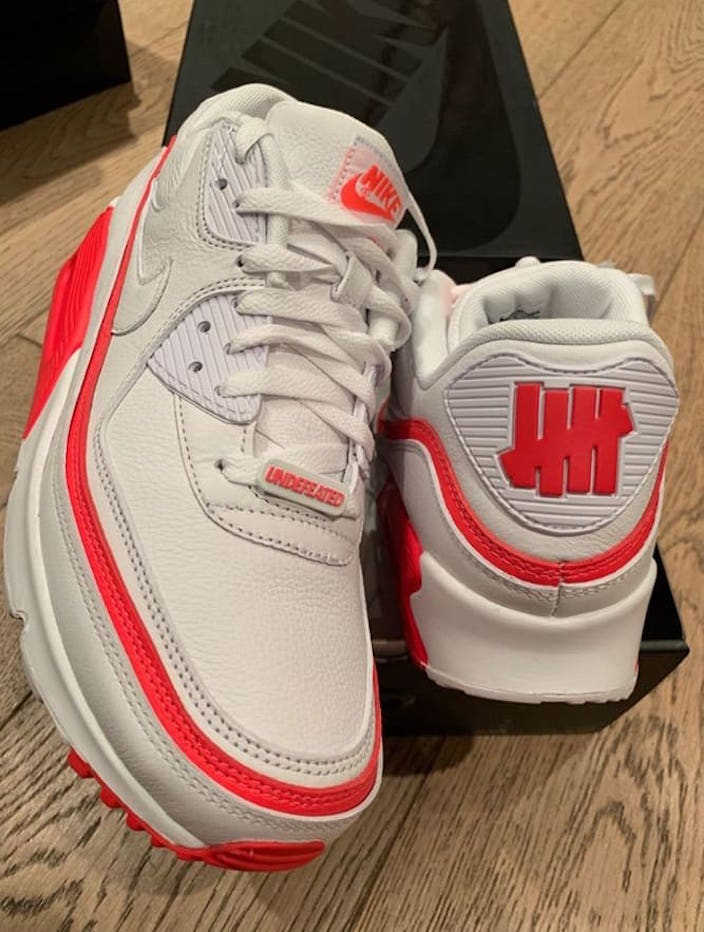 size 40 ebf7c e17af Undefeated x Nike Air Max 90 New Colorways Revealed: Release ...