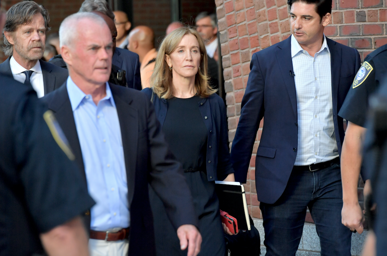 Felicity Huffman Sentenced To 2 Weeks In Prison For College Admissions Scam