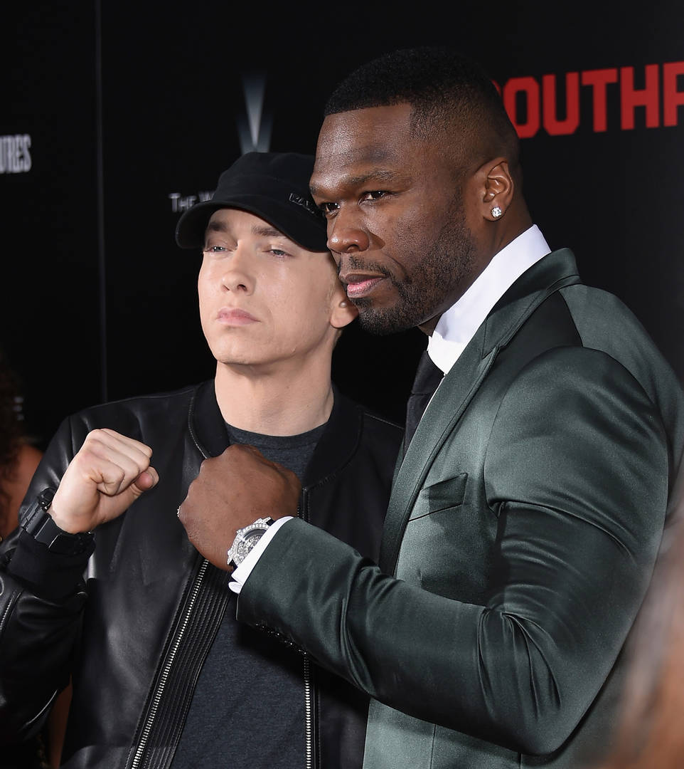 50 Cent Says New Eminem Album Is Coming Soon: Watch