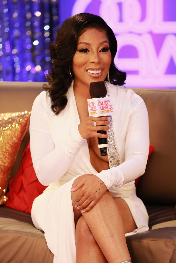 """K. Michelle Gets Laid Out For Talking Trash About Her """"LHHH"""" Co-Star Moniece Slaughter"""