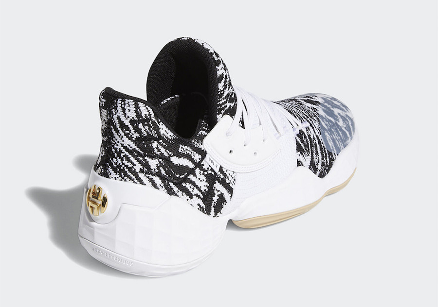 "James Harden's Adidas Vol. 4 ""Cookies & Cream"" Release Date Announced"