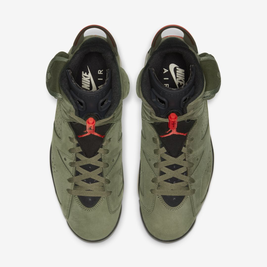 Travis Scott x Air Jordan 6 Prices Are Skyrocketing On The Resale Market