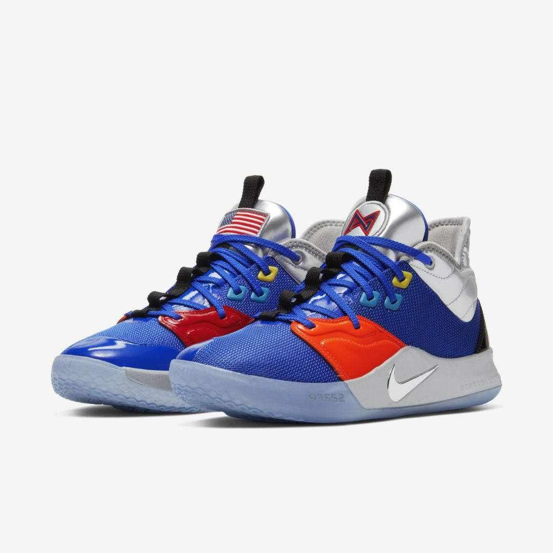 "Paul George's Nike PG3 Releasing In New ""NASA"" Colorway: Release Info"