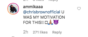 Chris Brown's Alleged Baby Mama Shares Painting Inspired By Him
