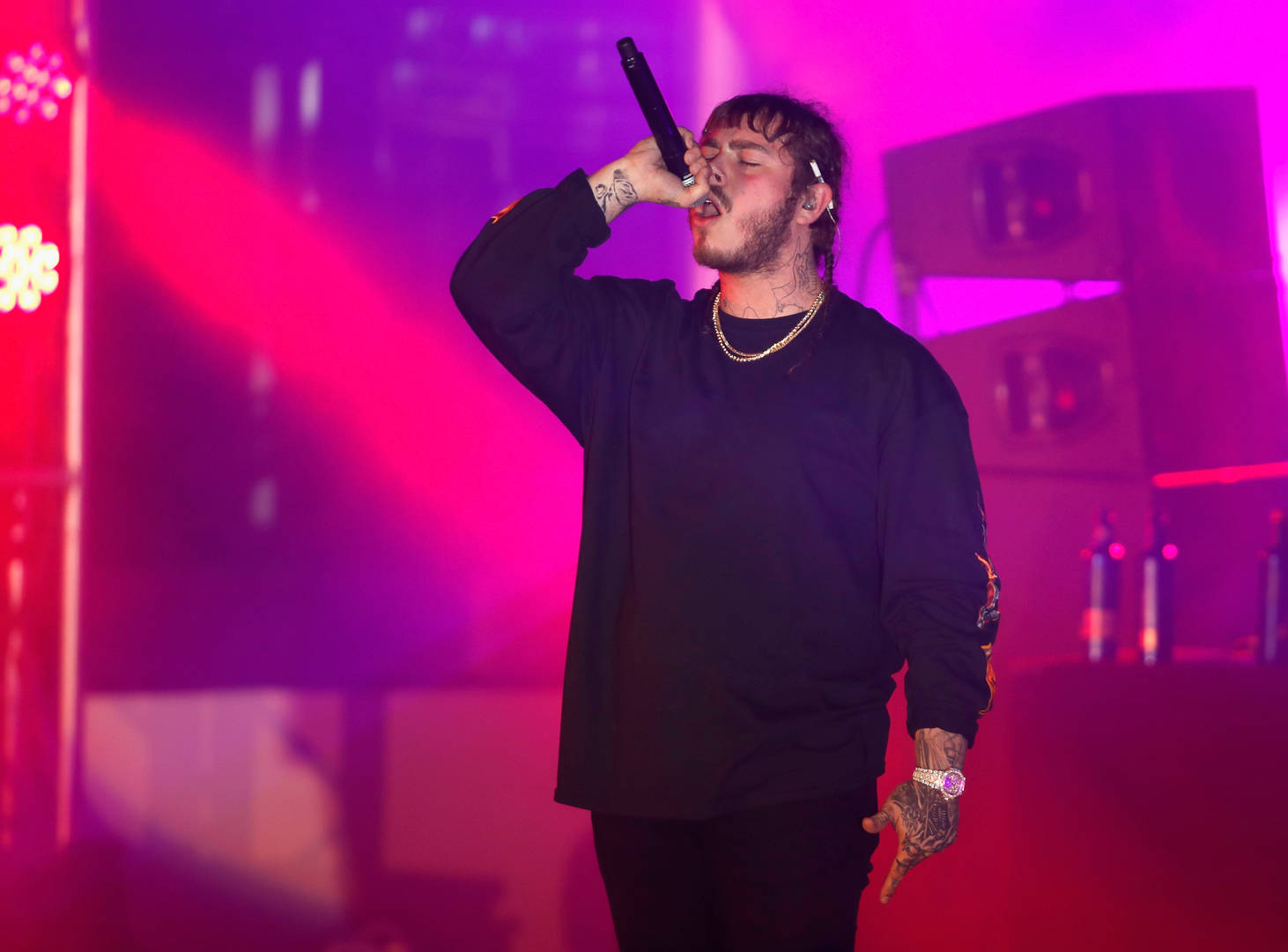 """Post Malone Goes Platinum Again With """"Hollywood's Bleeding"""""""
