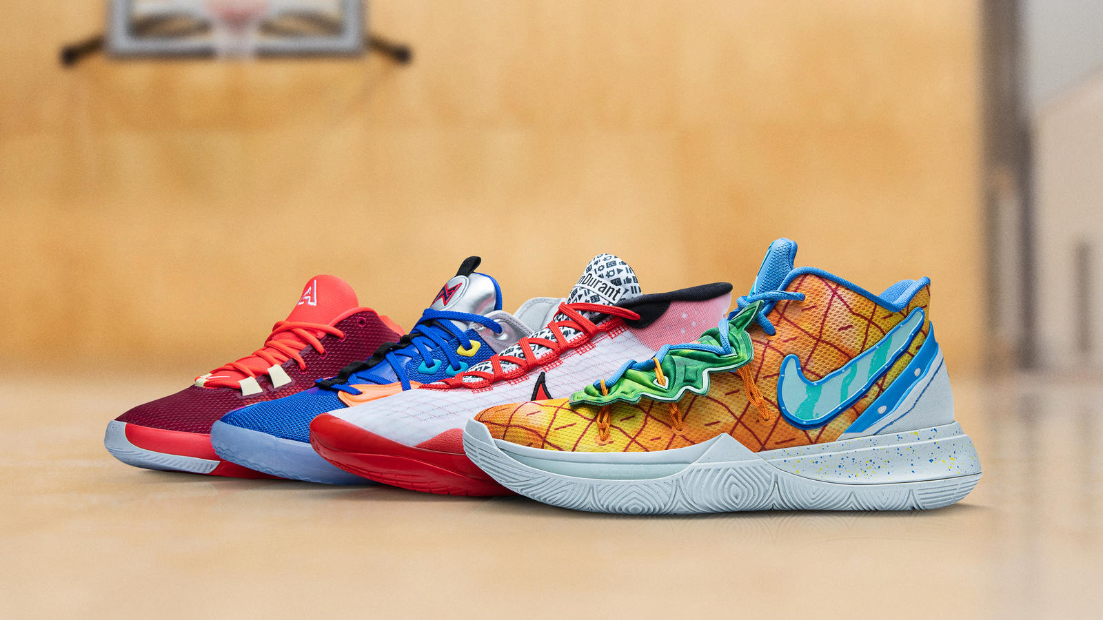 Nike Basketball Reveals Opening-Week Sneakers For Kyrie, Giannis & More