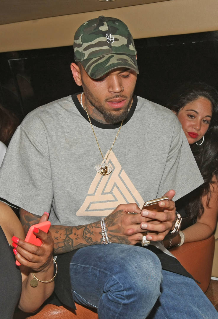 Chris Brown Announces Epic Yard Sale At His House: Gucci, Supreme & More