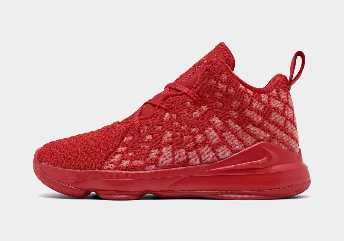"LeBron James' Nike LeBron 17 Surfaces In ""Red October"" Colorway: First Look"