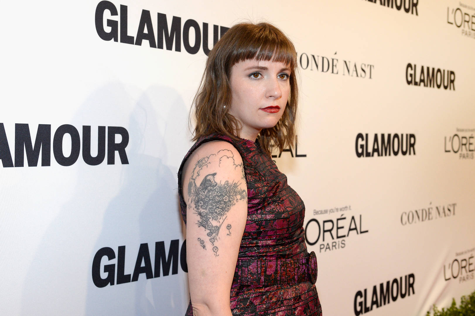 Lena Dunham Speaks About Addiction During Friendly House Benefit