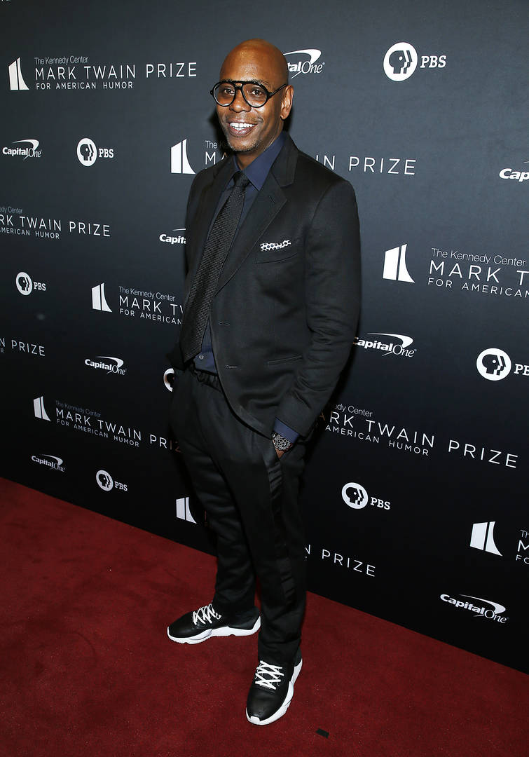 Dave Chappelle Awarded Mark Twain Prize For American Humor & Music Culture Contributions