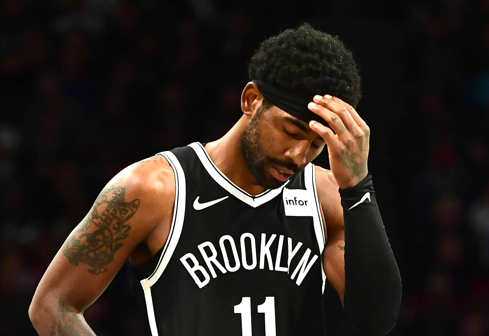Nets defend guard Kyrie Irving amid alleged turbulence