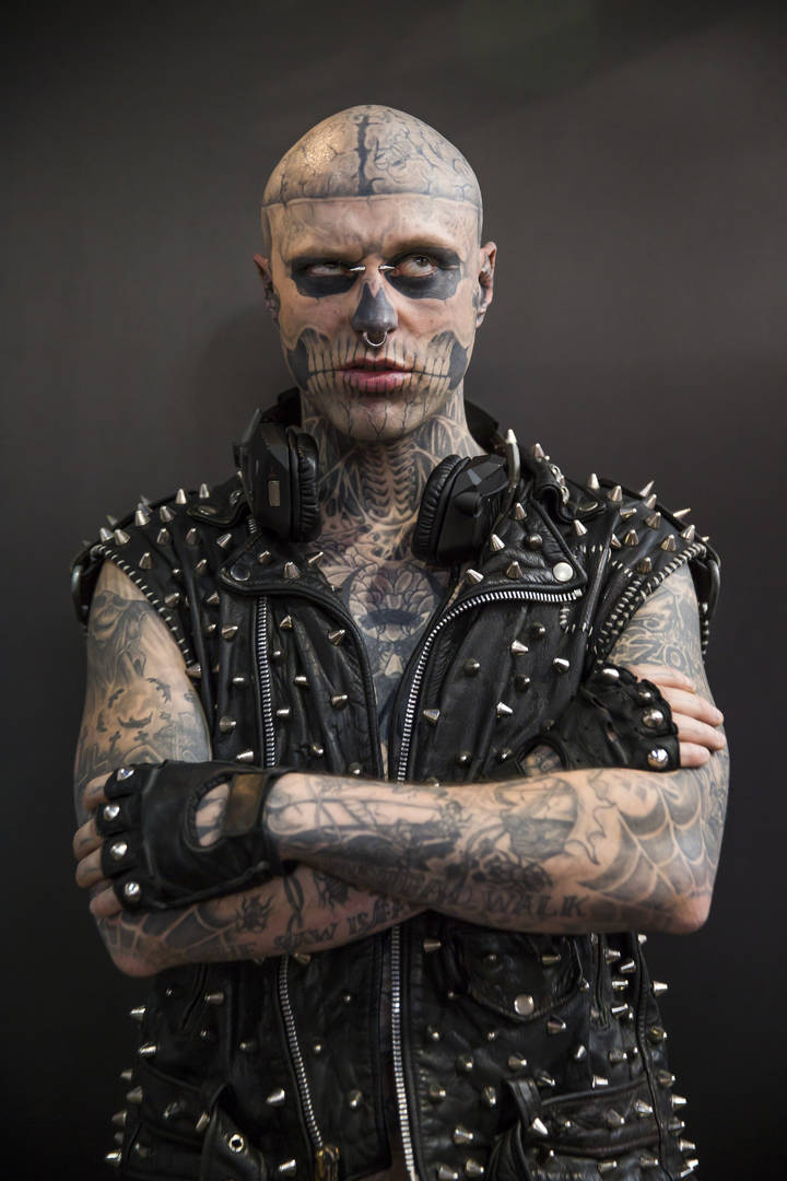 """""""Zombie Boy"""" Rick Genest's Death Ruled As Accident Not Suicide"""