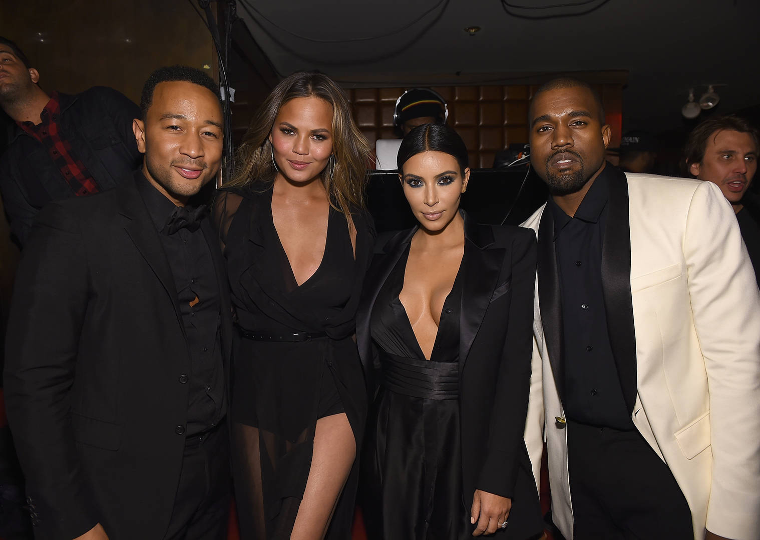 John Legend Says He & Kanye West Were Never Close, Criticizes Rapper's Support Of Trump