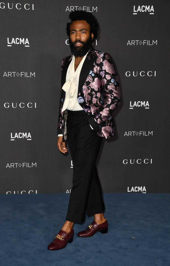 Donald Glover, Billie Eilish & More Kill The Red Carpet At LACMA Gala
