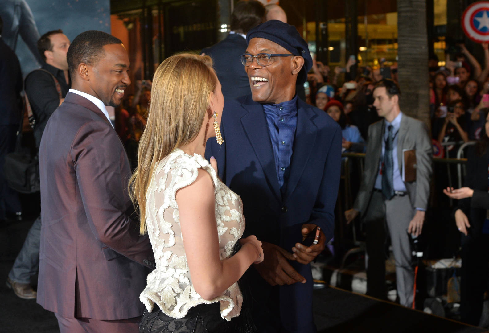 Samuel L. Jackson, Anthony Mackie and Nia Long star in 'The Banker'