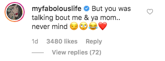 Fabolous Trolls Step-Daughter Taina Williams For G Herbo PDA Photo