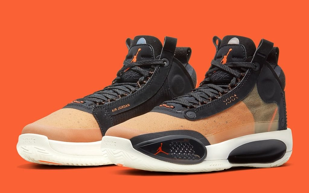 "Air Jordan 34 Releasing In Fall-Friendly ""Amber Rise"" Colorway"