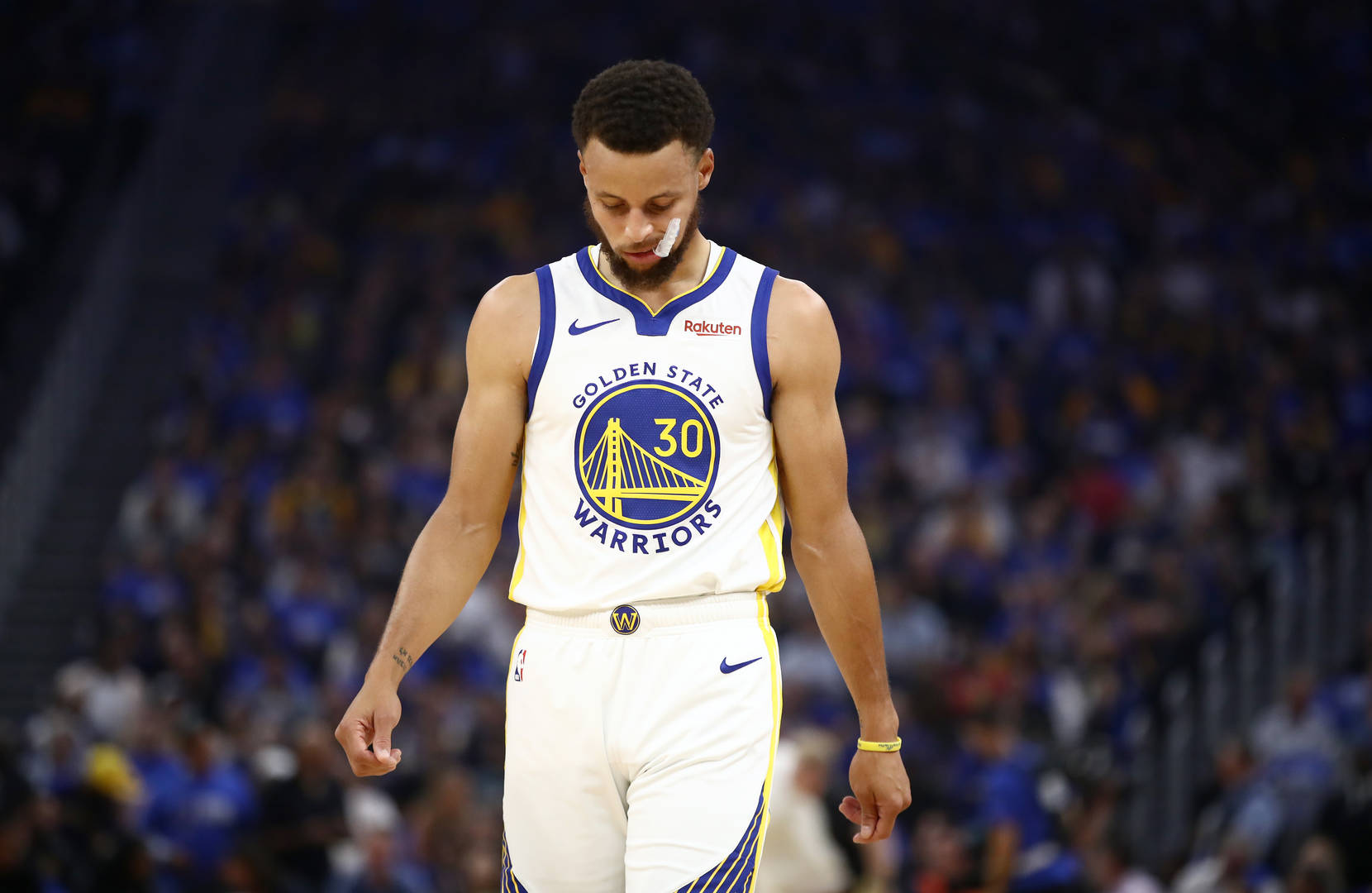 Golden State Warriors Steph Curry will miss the rest of the season