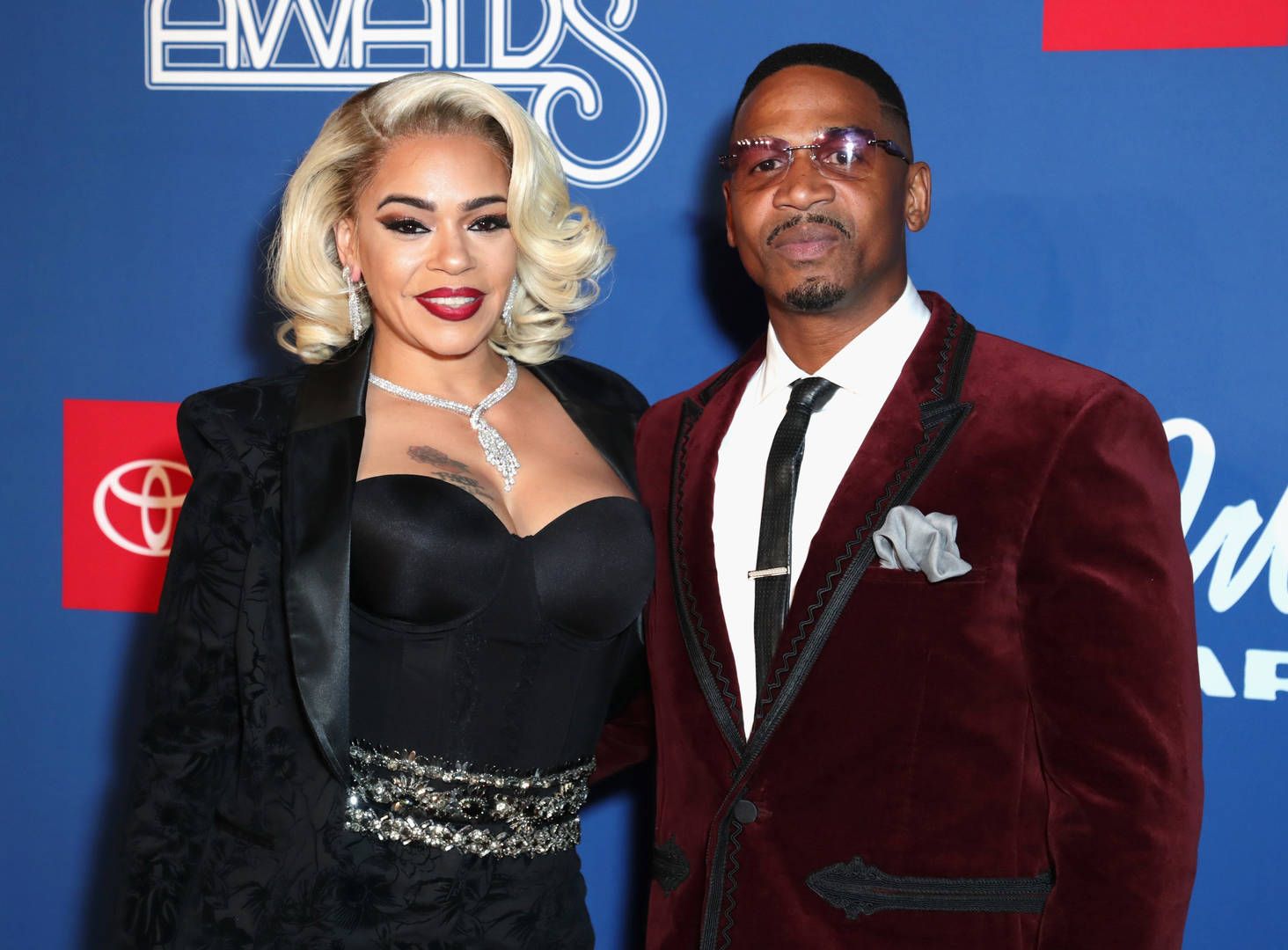 Faith Evans Dumped Stevie J At One Point Because He Wasn't Ready For A Relationship