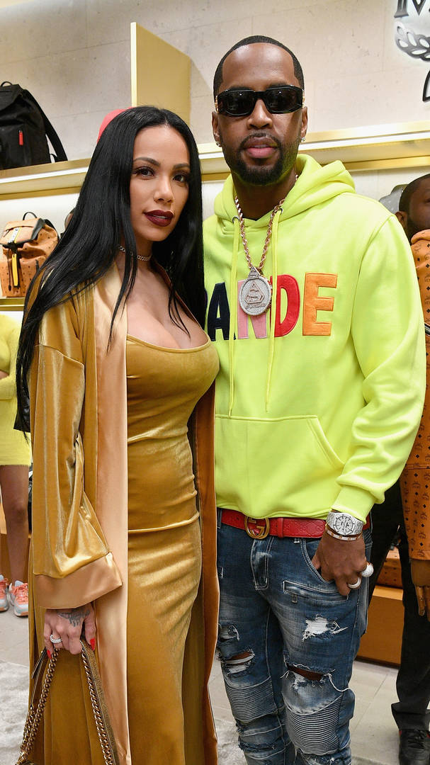 Safaree Wants To Sue Donald Trump After Erica Mena Sprains Ankle On New York Street