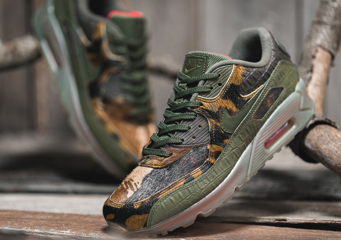 Nike Air Max 90 Arrives In Exotic