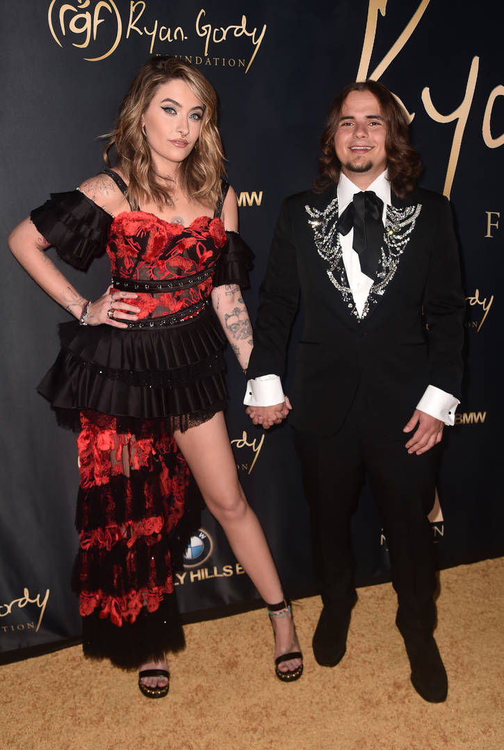Paris Jackson Skipped Prom For Metallica Concert Brother Prince