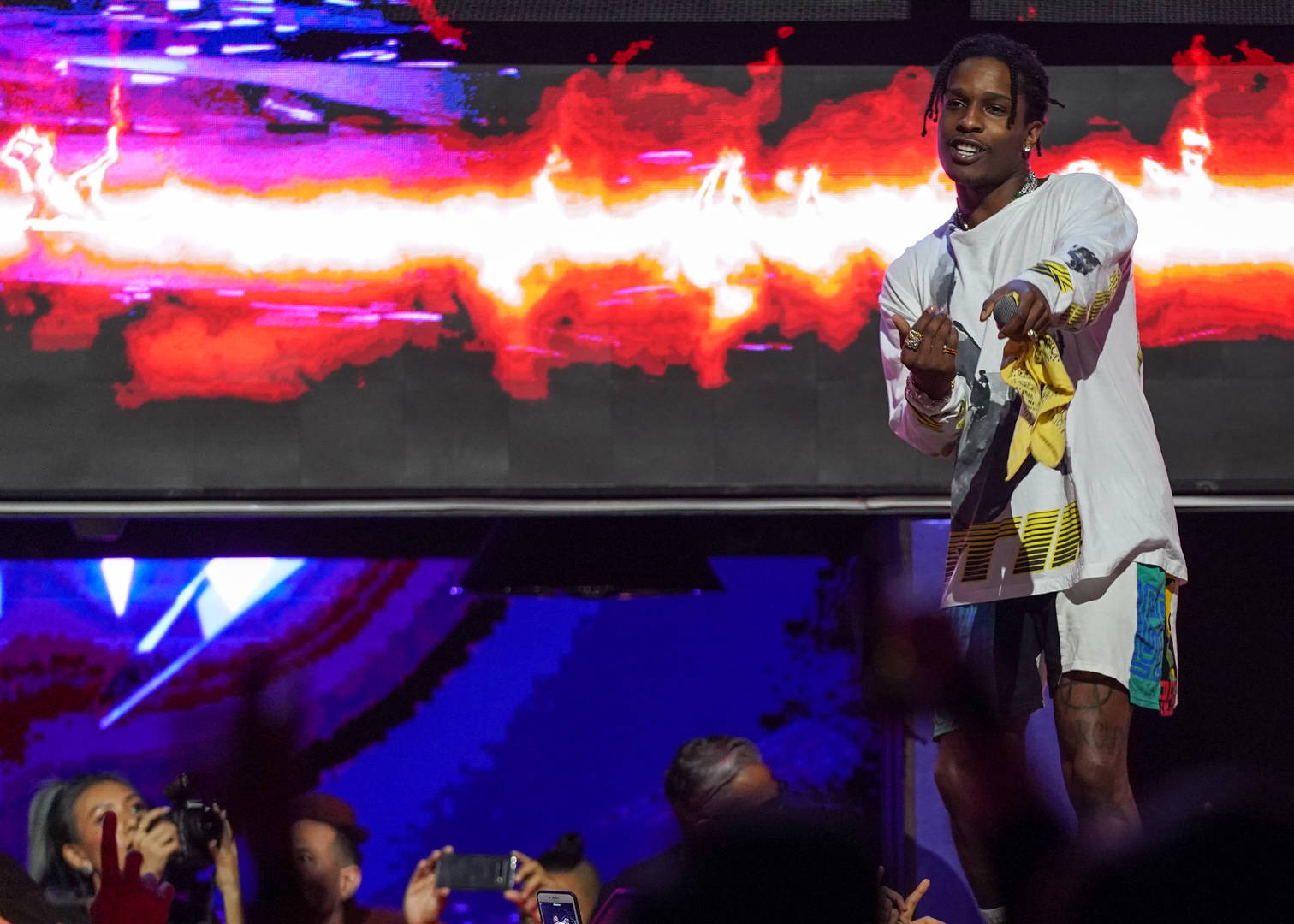 A$AP Rocky Performing