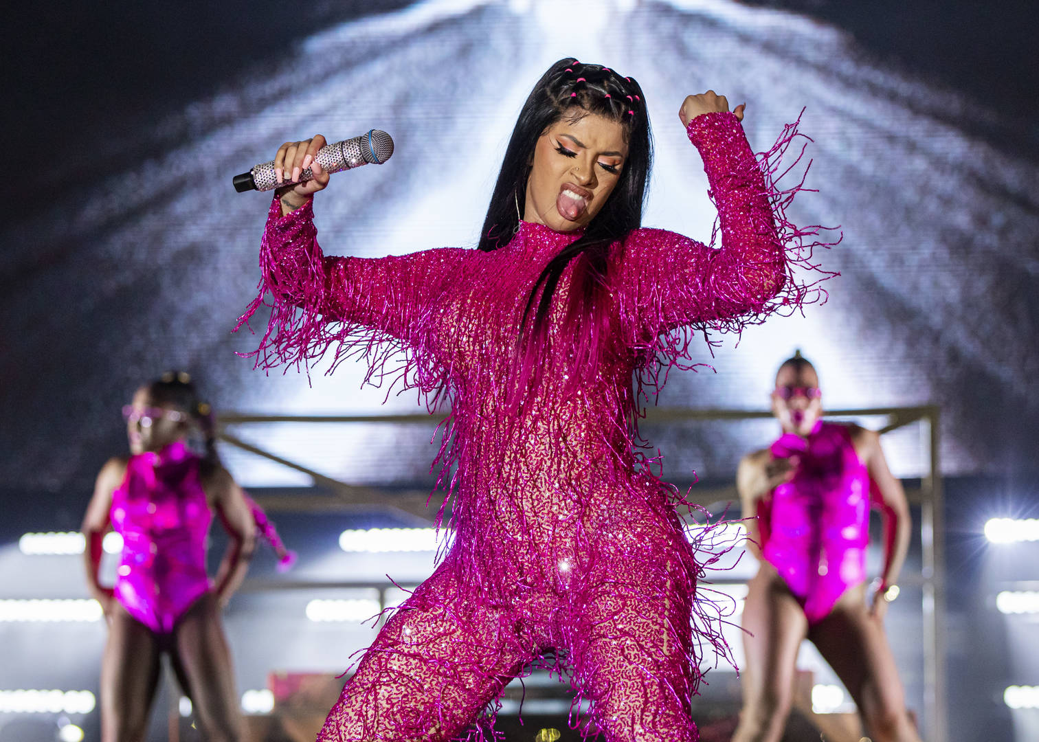 Cardi B Thanks Fans For AMA Win, Says She's Busy Working On New Album
