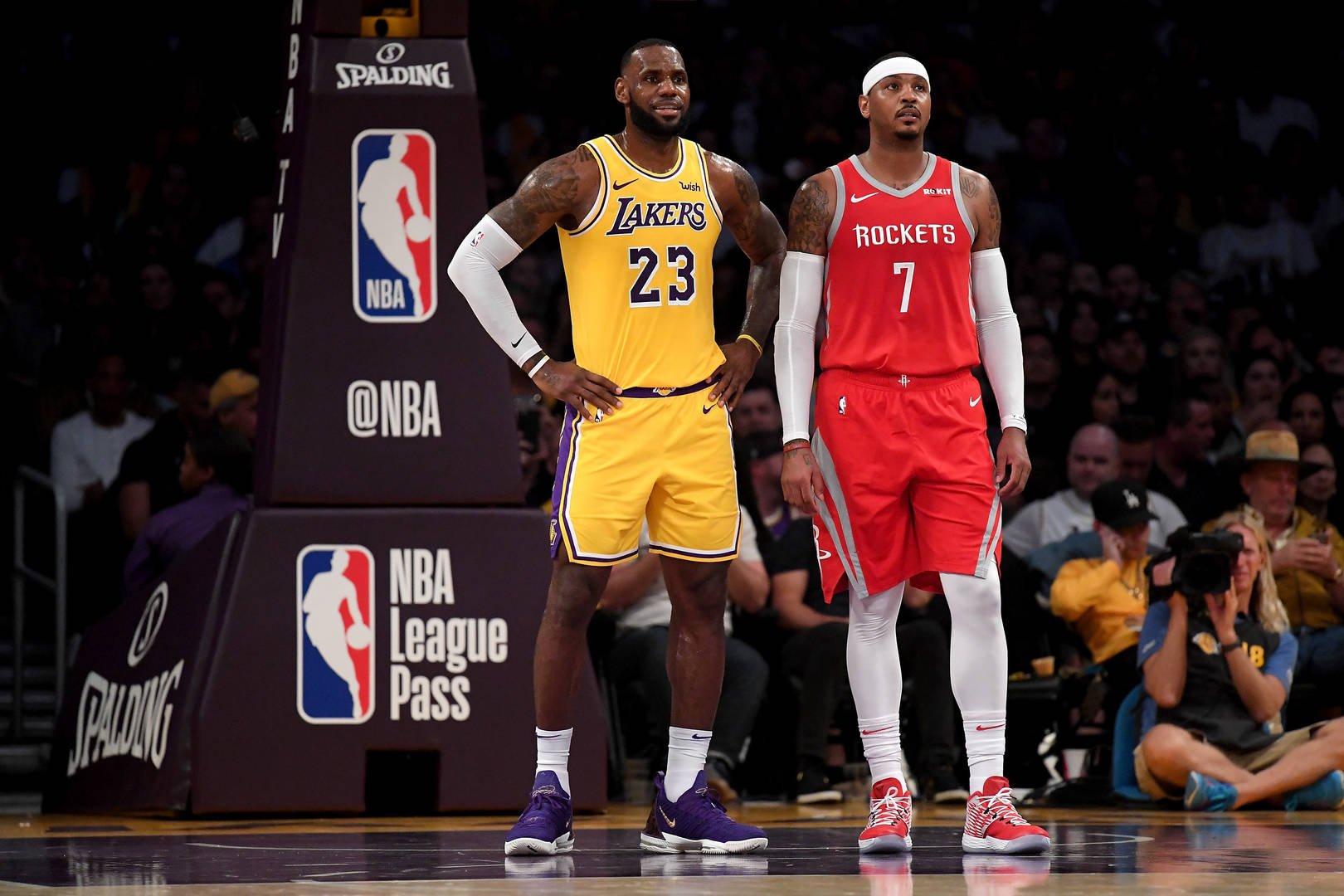 Carmelo Anthony Comments On Joining LeBron James & The Lakers