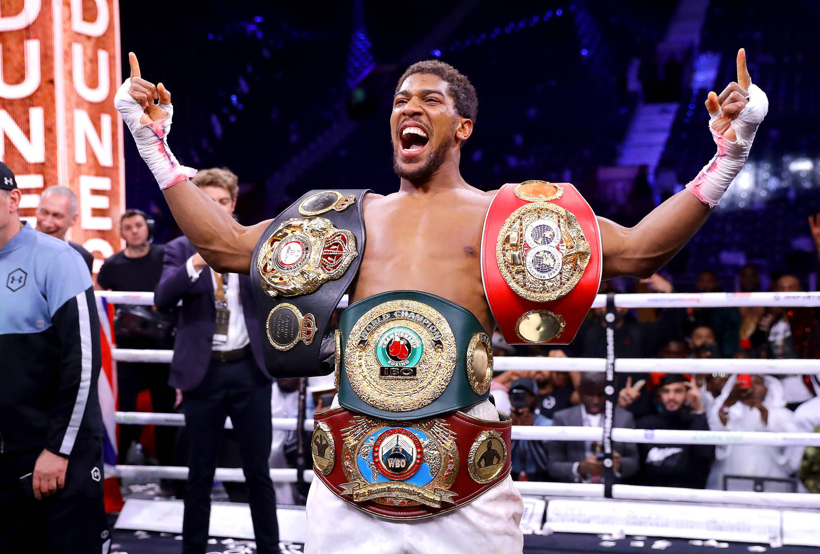 New records set by Joshua after defeating Ruiz
